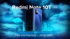 Xiaomi Redmi Note 10T 5G to launch on July 20 in India