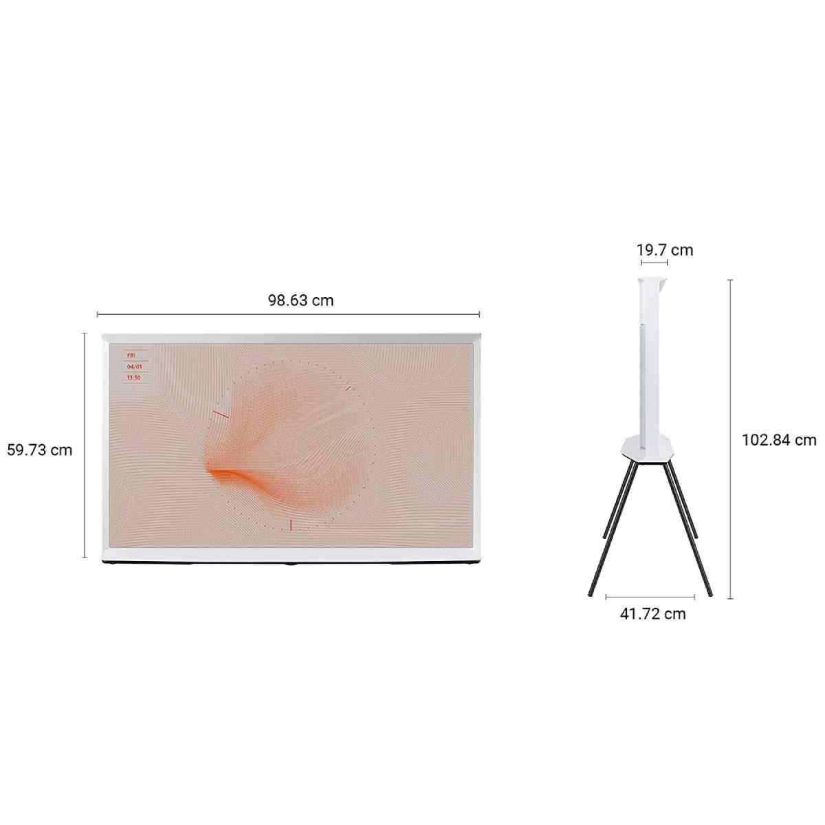 सैमसंग The Serif Series 43 इंच 4K Ultra HD Smart QLED टीवी (QA43LS01TAKXXL)