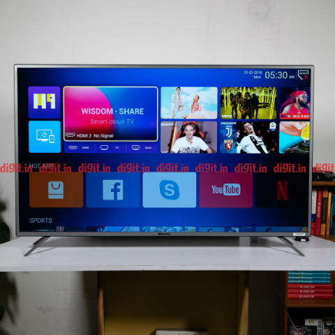Weston 55 inch Ultra HD 4K LED Smart TV  Review: Premium price for a budget offering