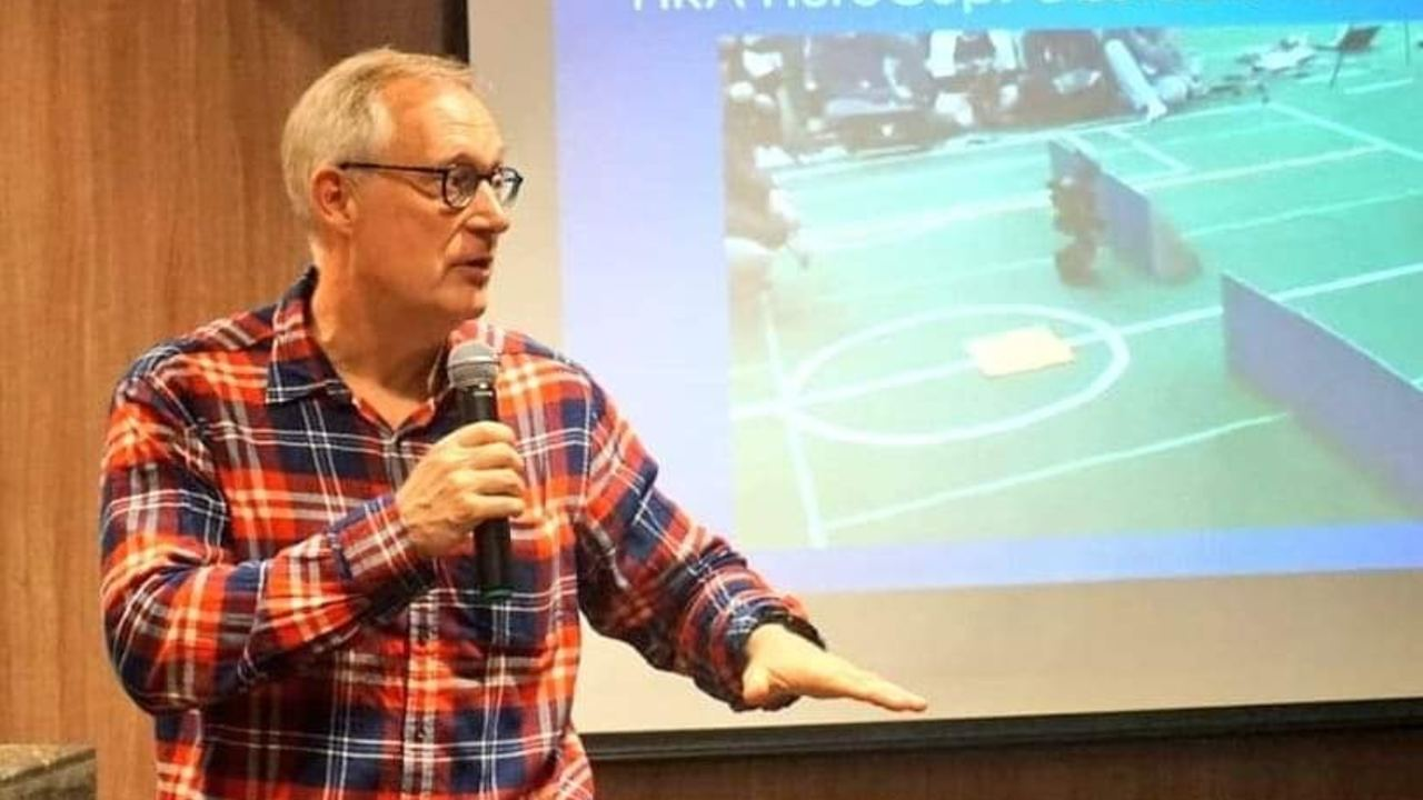 Jacky Baltes, President, Federation of International Robotsports Association (FIRA)  talks about robotics in the next 20 years