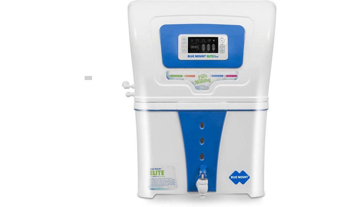 Blue Mount Elite Star Alkaline ro 18 L RO + UF Water Purifier (Blue, White)