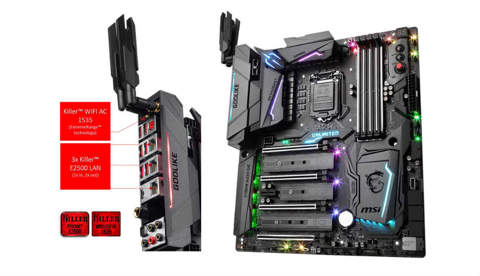 Msi Unveils Infinite A Gaming Pc Components Ahead Of