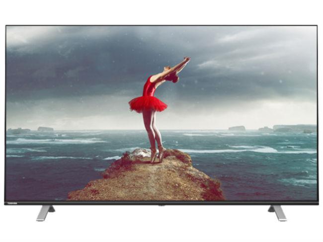 Toshiba new range of TVs.