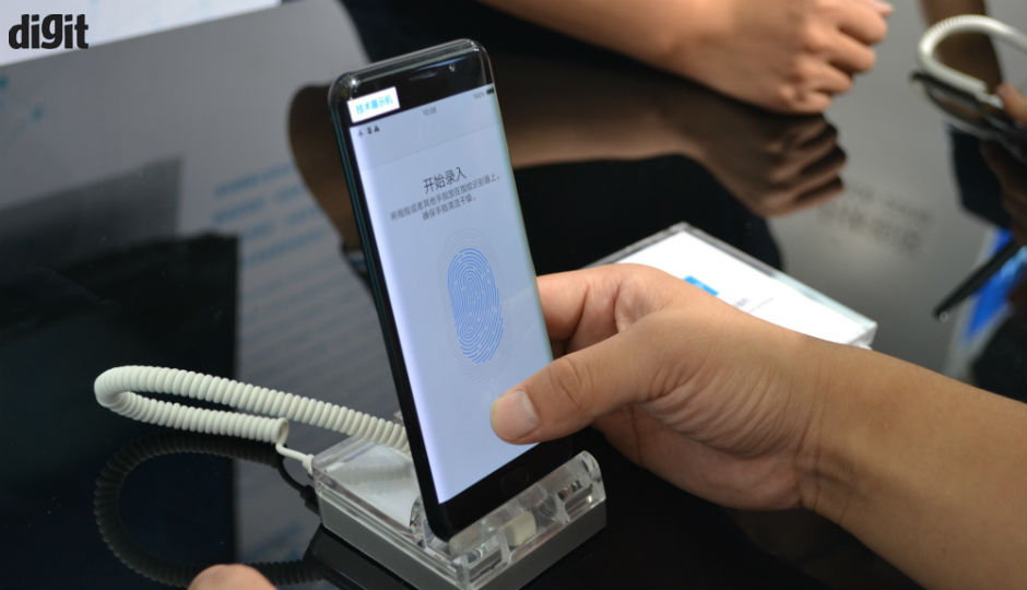 Vivo unveils world�s first in-display fingerprint scanning smartphone at CES 2018
