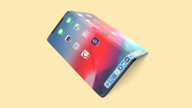 Apple folding phone concept