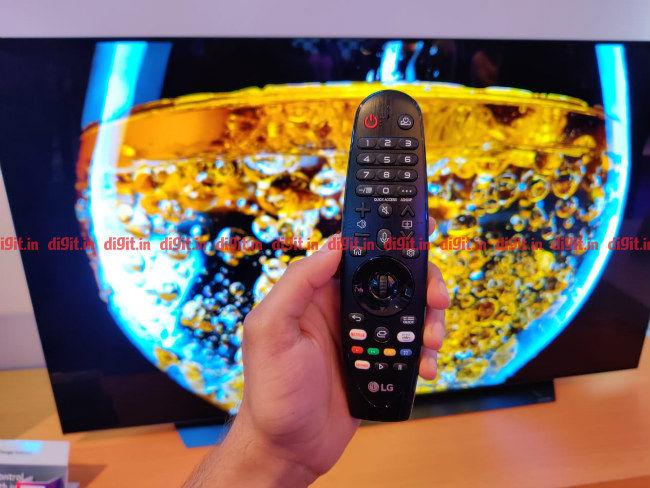 LG 2019 TV Remote