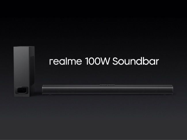 Realme 100W soundbar launched