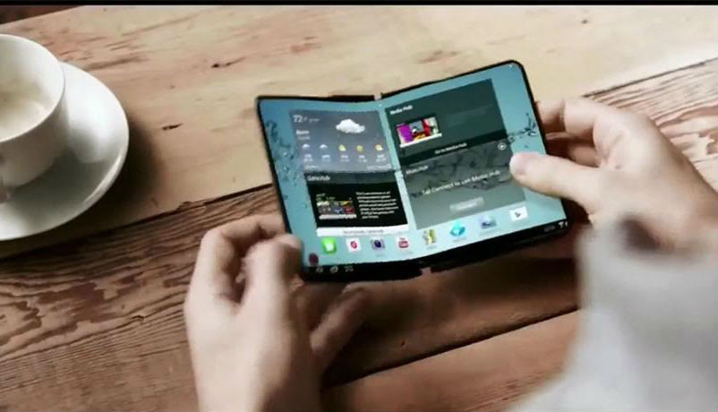 Samsung's foldable smartphone launching in January?