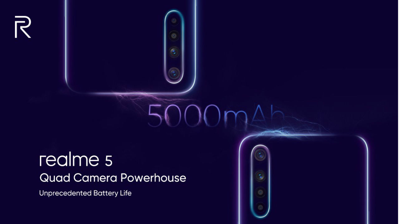 Realme Siap Luncurkan Realme 5 & Realme 5 Pro di Indonesia