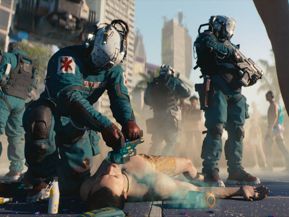 The story of Cyberpunk 2077 changes based on your actions.