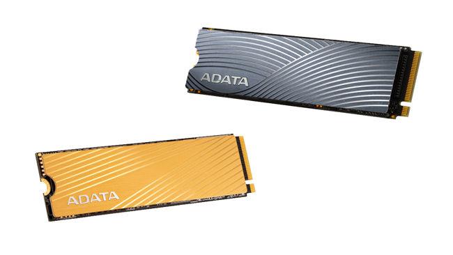 ADATA Swordfish and Falcon NVMe SSD