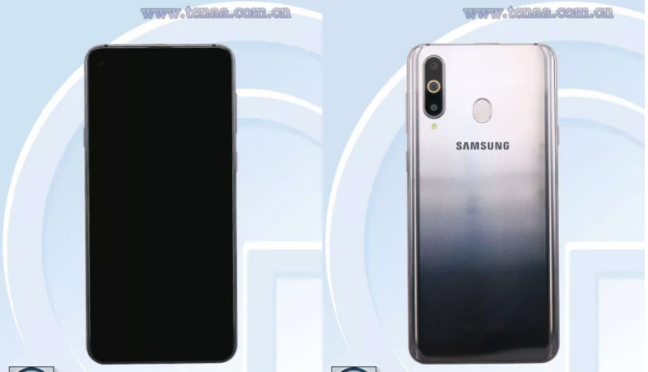 Samsung Galaxy A8s images leaked on TENAA