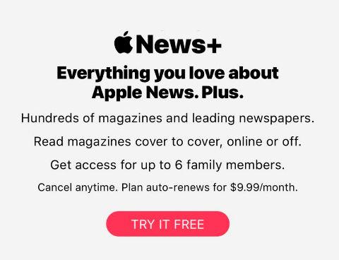 "Apple News Plus service violates App Store's ""Subscriptions"