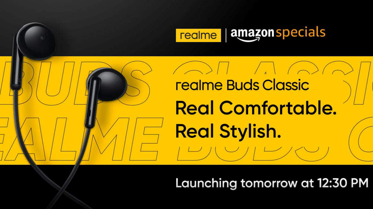 Realme Buds Classic With 3 5mm Connection 14 2mm Drivers Launched In India At Rs 399 Digit