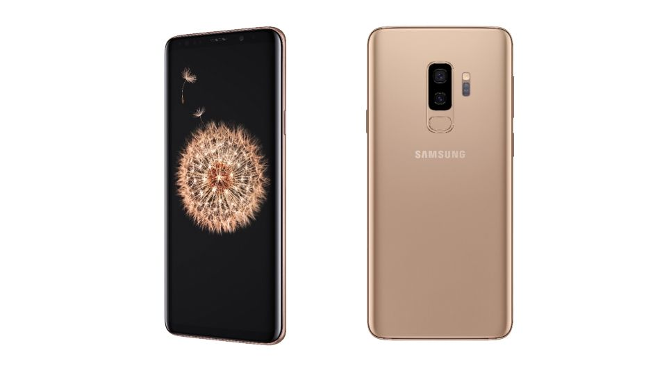 samsung galaxy s9 plus announced in new sunrise gold. Black Bedroom Furniture Sets. Home Design Ideas