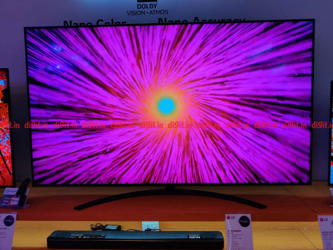 LG 2019 TV With Soundbar