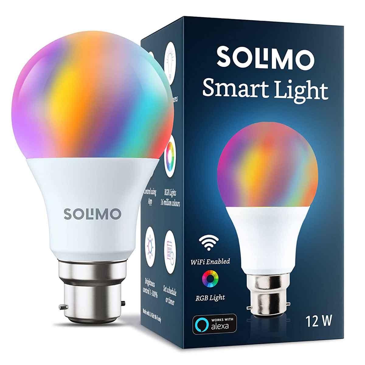 अमेज़न Solimo 12 Watt Smart LED Light