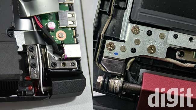 Acer Nitro V AN515-51 hinge