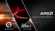 AMD Ryzen 4000 Zen 3 desktop CPUs launching October 8, and Radeon RX 6000 graphics cards on October 28