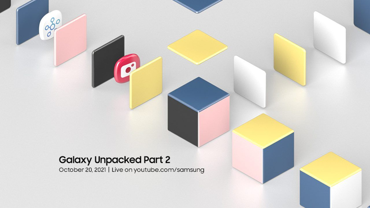 Samsung Galaxy Unpacked event scheduled for October 20, same week as Apple and Googles events