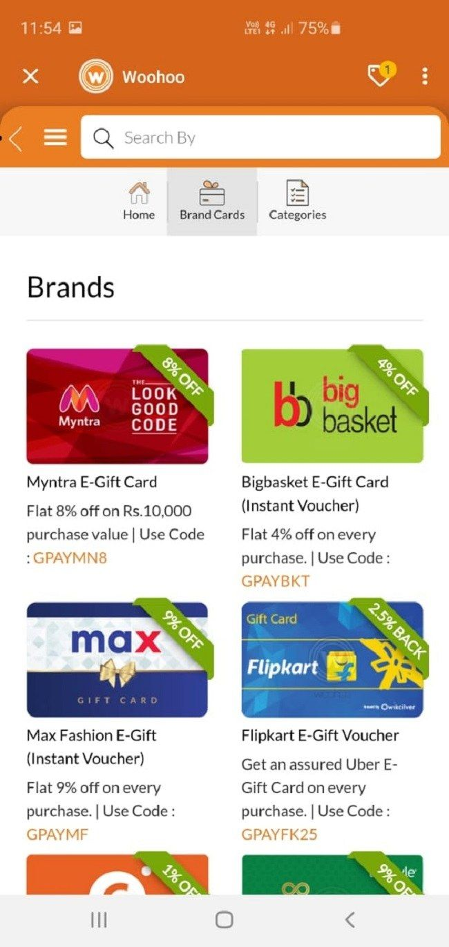 Google Pay Gift Cards Insert 2