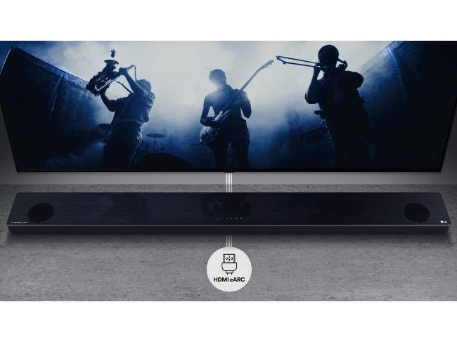 LG's 2021 range of soundbars.