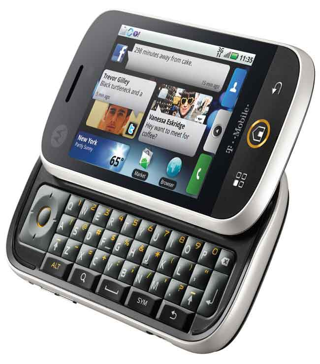 Motorola S New Android Phone Cliq Digit In