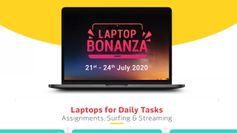 Flipkart Laptop Bonanza Sale 2020: सेल के पहले दिन पाएं ये ऑफर्स