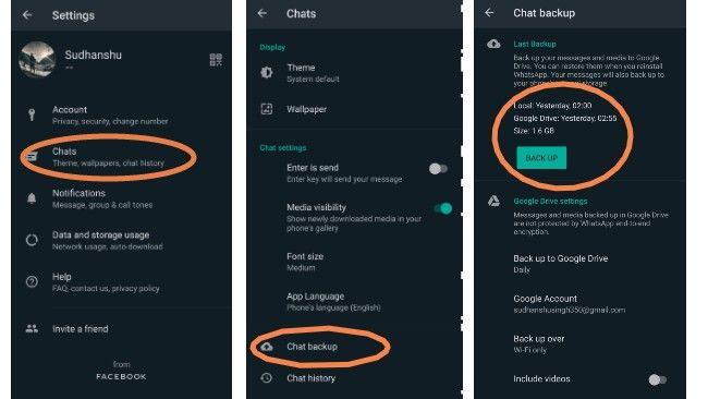 Here's how to restore WhatsApp chat using cloud storage