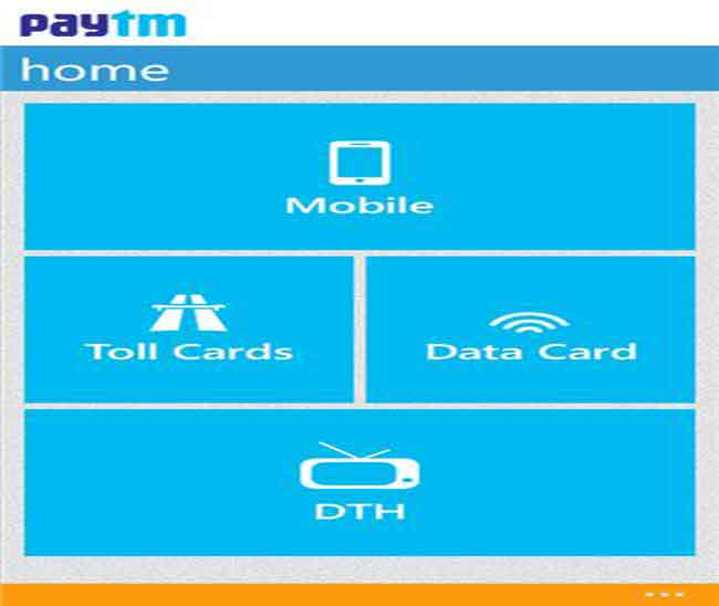 Paytm launches app for Nokia Asha touch and Windows Phone