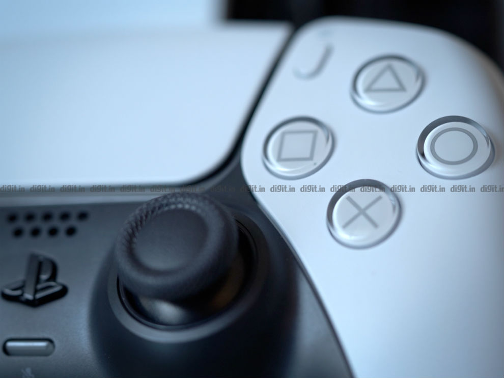 The PS5 face buttons are slightly bigger this time around.