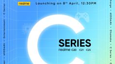 Realme C20, Realme C21 and Realme C25 smartphones to launch in India on April 8