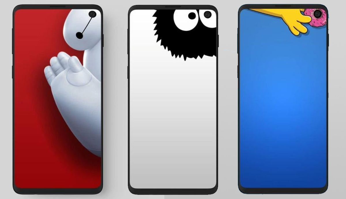 Samsung Galaxy S10 Users Can Hide The Punch Hole Cameras Using These Hilarious Creative Wallpapers Digit