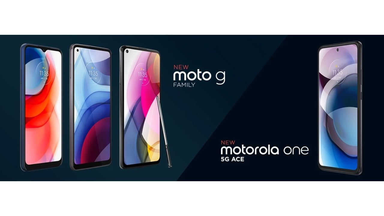 Motorola launches 2021 lineup of Moto G Stylus, Moto G Play, Moto G Power and Moto One 5G Ace