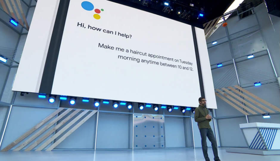 At The I O 2018 Developers Conference Google Showcased Assistant Having A Remarkable Convincing Conversation Over Phone To Book