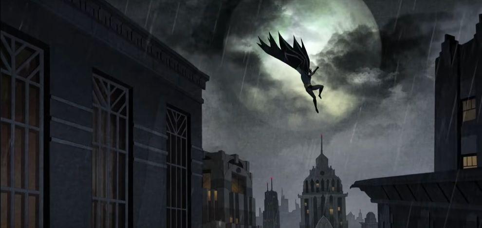 Batman Long Halloween Part One review Animation