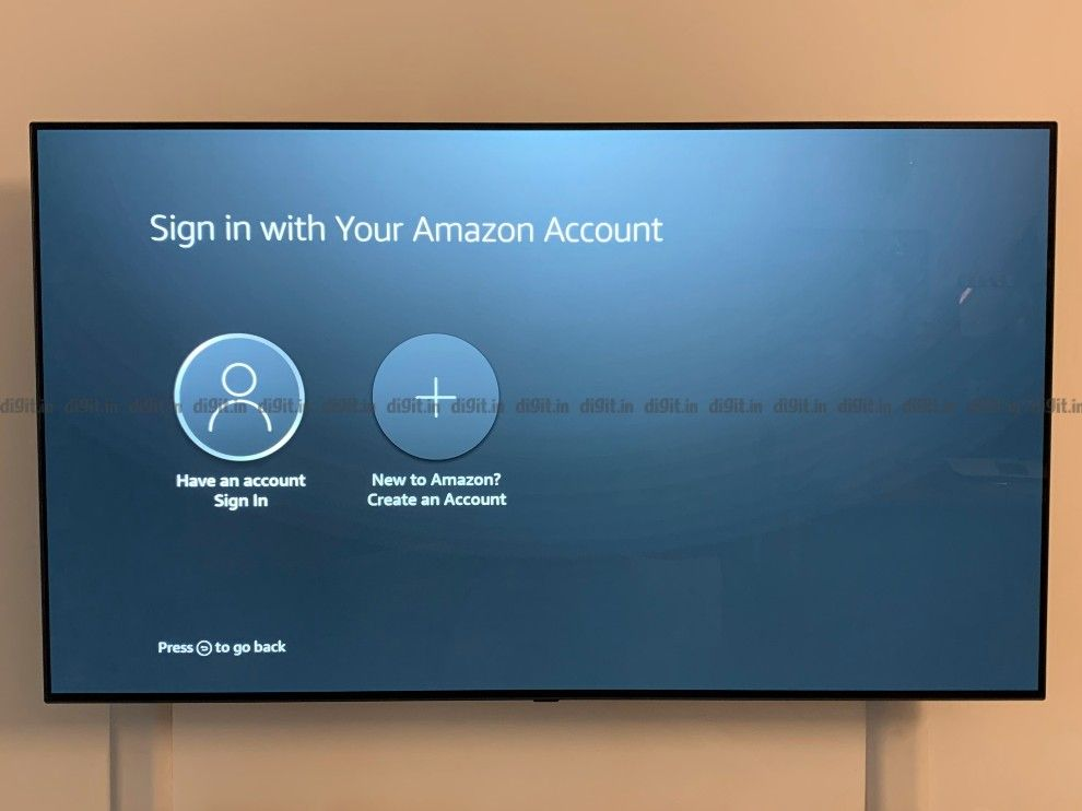 You can long into your Amazon account on the Fire TV Cube to access Prime Video.