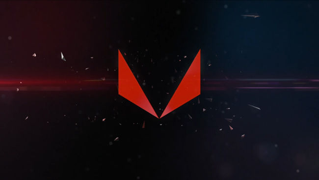 AMD RX VEGA Graphics Card GDC 2017 RX VEGA LOGO