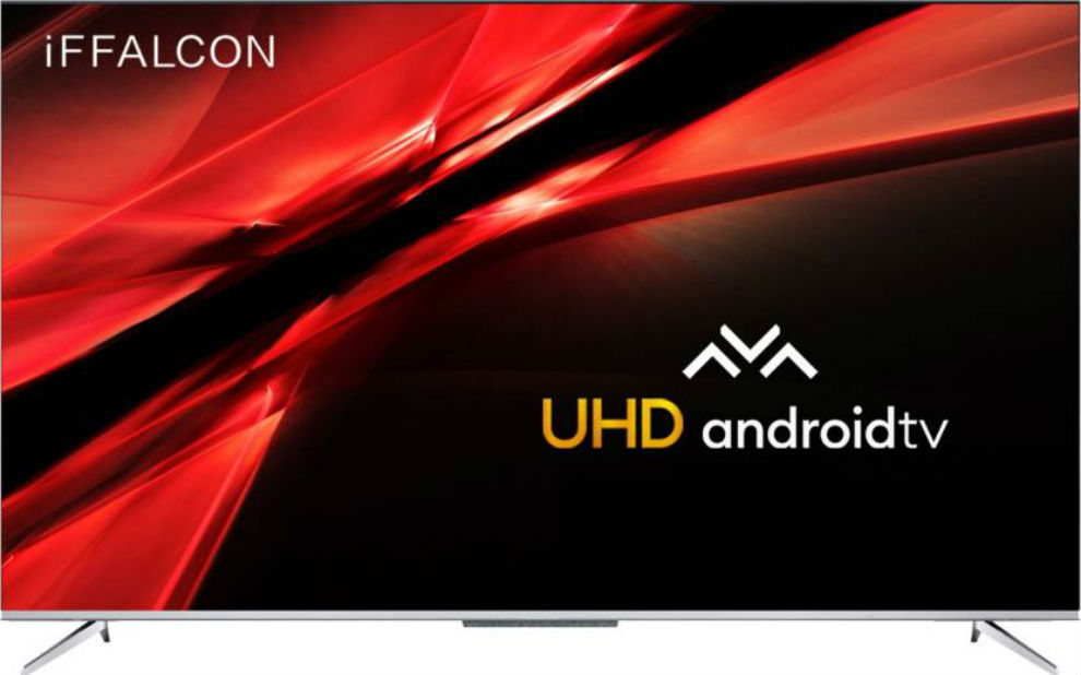 iFFALCON 65-inch Android TV boasts of hands free voice controls.