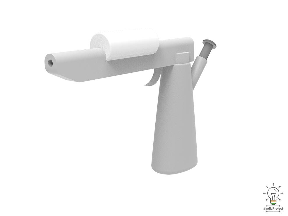 Pacify medical,IndiaProject,nexus,skin spray gun