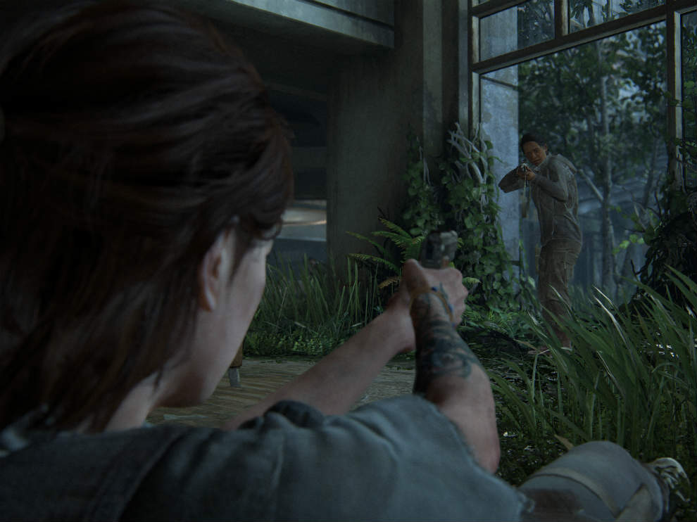 The Last of Us Part 2 is a Ps4 exclusive game