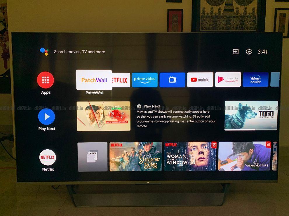 The Mi QLED TV 75 runs on Android 10.