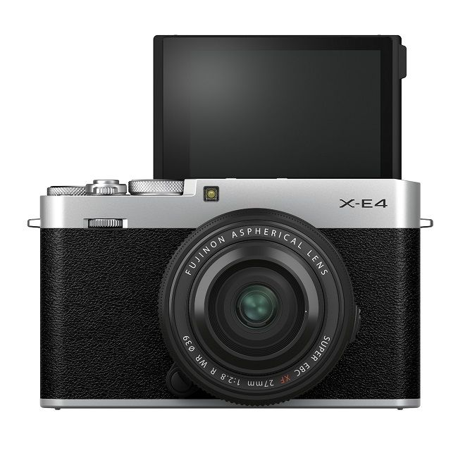 The camera also features an LCD monitor that sits flush.