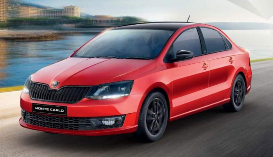 2017 Skoda Rapid Monte Carlo adds sporty elements to the ...