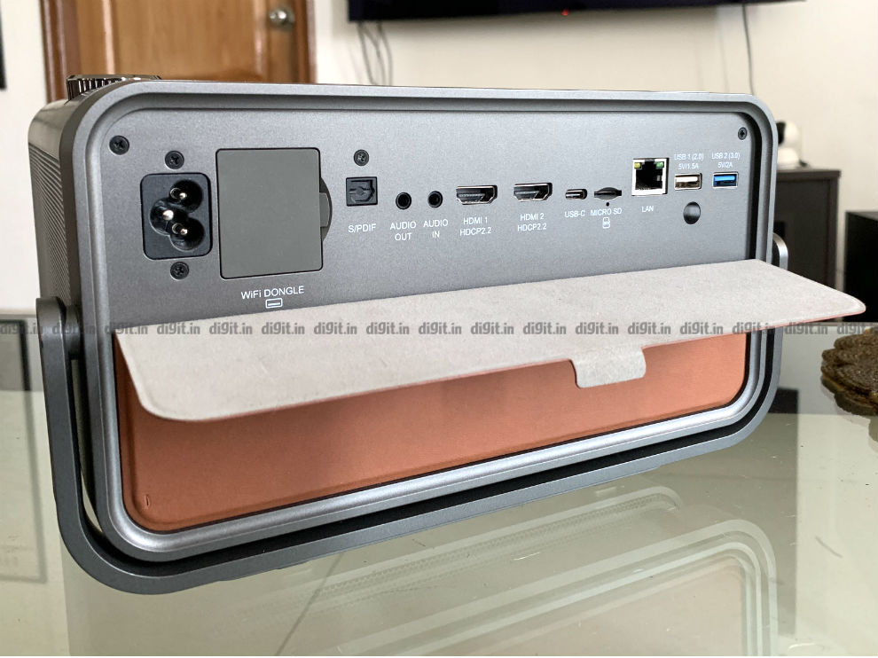 The ViewSonic X10 has plenty of connectivity options.