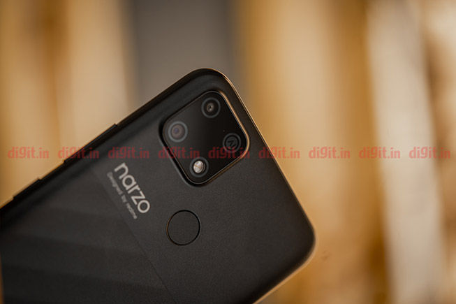 Realme Narzo 30A review: Design and Display