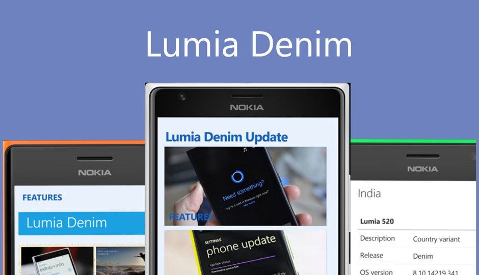 Denim update starts rolling out to Lumia devices