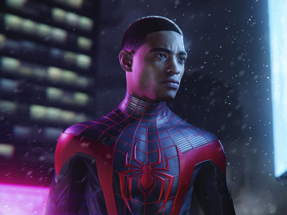 Spider-man has different suits with suit powers in the game.