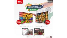 स्वतंत्रता दिवस पर TCL QLED TV के साथ अपना टीवी एक्सपीरियंस अपग्रेड करें