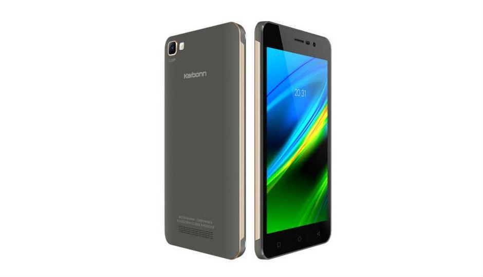 कार्बन K9 स्मार्ट लॉन्च, 8GB इंटरनल स्टोरेज से लैस
